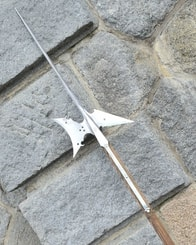 RENAISSANCE HALBERT, replica of a pole weapon