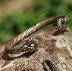GALLIA, Celtic Bracelet of Rix, bronze