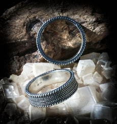 REYNIR, Slavic - Viking sterling silver Ring