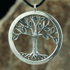 Tree of Life pendant - Large, sterling silver
