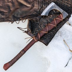 RAGNAR Forged Viking Axe, sharp