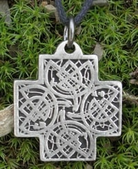 CELTIC CROSS - BOOK OF KELLS INSPIRATION