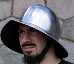Kettle Hat, medieval helmet, armour