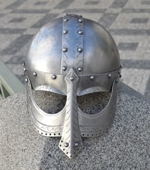 EINAR VIKING HELMET, decorated face mask