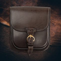 GENTLEMAN sac en cuir - marron