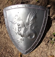 DRAGON, decorative shield