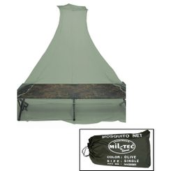 MOSQUITO NET by Mil-Tec Single Olive Green