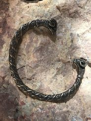 ARIES, BRACELET, pewter, covered by brass