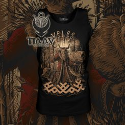 VELES, Slavic God, Tank Top