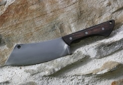 Santoku Cleaver, forged knife