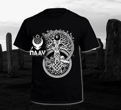 TREE OF LIFE, T-Shirt, black, Naav