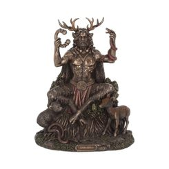 CERNUNNOS AND ANIMALS, figurine