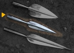LA TENE SPEAR, replica, 41 cm