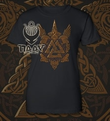 VALKNUT - Viking women's T-shirt colored