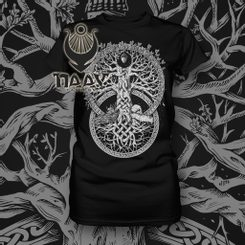 TREE OF LIFE, Ladies T-Shirt, black, Naav