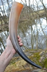 Long Viking Drinking Horn  - 0.7 L