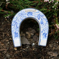 LUCKY HORSESHOE small, handpainted ceramics