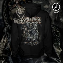 PREPPER - Apocalypse is Coming, Zipper Hoodie