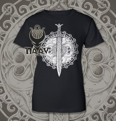 Claíomh Solais - Sword of Light, ladies' T-shirt