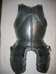 CUSTOM MADE FRONT PLATE CURIASS, medieval armor
