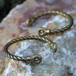 GALLIA, Celtic Bracelet of Rix, brass