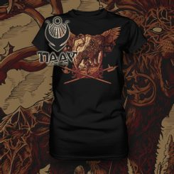 WARRIOR's SPIRIT, LION women´s T-Shirt, Naav
