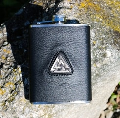 Hip Flask, Valknut