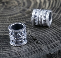 Viking Beard Ring from sterling silver