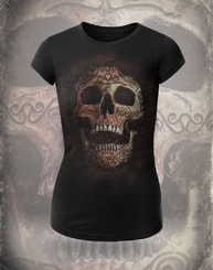 CELTIC SKULL, women's T-shirt colored