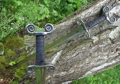 CELTIC, iron age swords