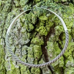 HJALMAR, viking necklace, silver