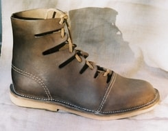 Ancient Higher Leather Shoes