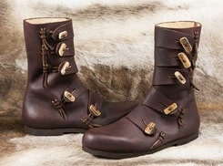 RASMUS, viking leather shoes
