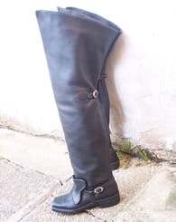 Musketeer Boots - renaissance shoes