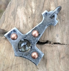 THOR'S HAMMER, forged, STEAMPUNK