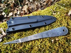 TOP DOG Throwing Knife + Tactical Sheath