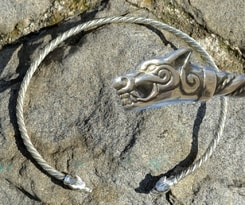 SILVER TORC, WOLVES FROM ICELAND