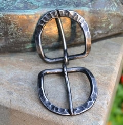 OVAL FORGED IRON BUCKLE for leather belts