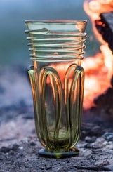 VIKING GLASS CUP, Birka - replica