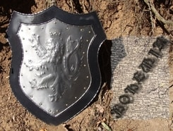 DECORATIVE SHIELD, Bohemia