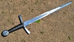 TEMPLAR, dagger with a cross