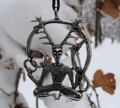 CERNUNN, The Celtic God, pendant