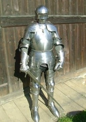 FUNCTIONAL PLATE ARMOUR, custom made