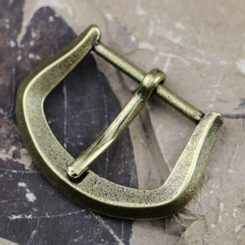 MEDIEVAL BELT BUCKLE 25mm, zinc, ant. brass