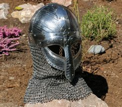 NJORD, Viking helmet with aventail