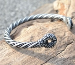 GALLIA, Celtic Bracelet, tin