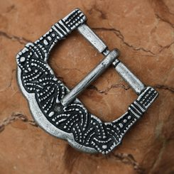 Viking Buckle, Gokstad, Norway, Zinc, silver colour