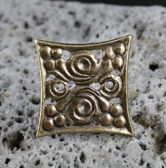 MORAVIA MAGNA, early medieval belt stud