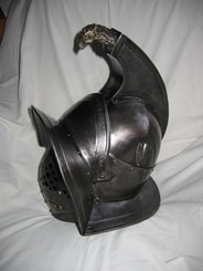 GLADIATOR HELMET with EAGLE