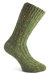 FOREST GREEN, woolen socks, Donegal, Ireland